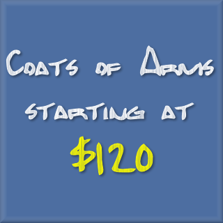Coats of Arms starting at $120